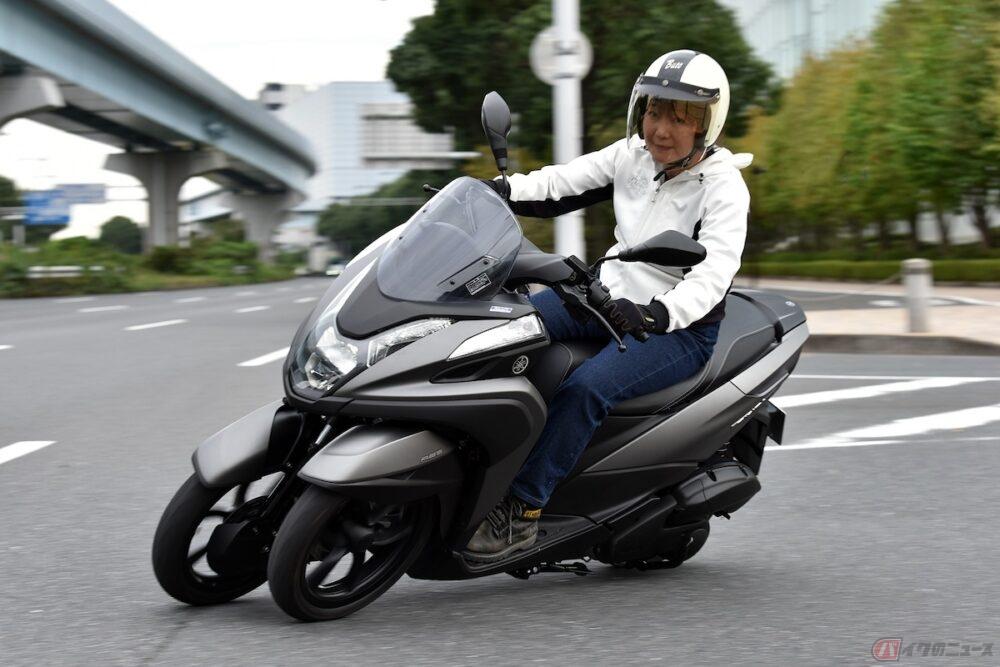 生活の足からツーリングまで活躍するヤマハの3輪スクーター「トリシティ155 ABS」にママライダーが乗ってみました!