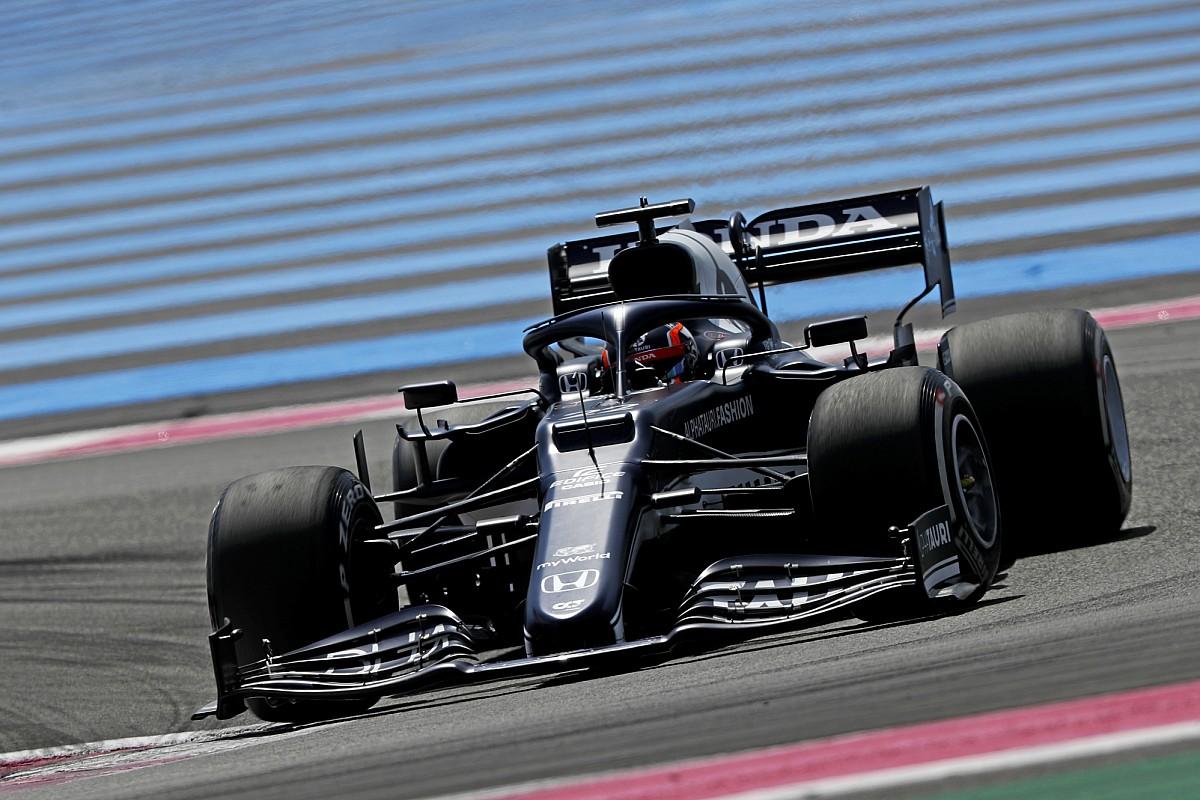 F1フランスFP2速報:フェルスタッペンが首位、僅差でボッタス続く。角田裕毅は13番手