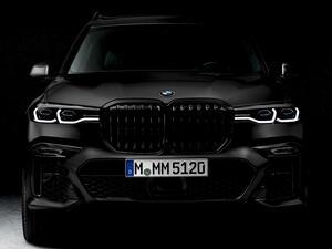 BMWが7台限定の「BMW X7 エディション ダークシャドウ」を発売。M50iをベースにした高性能SUV
