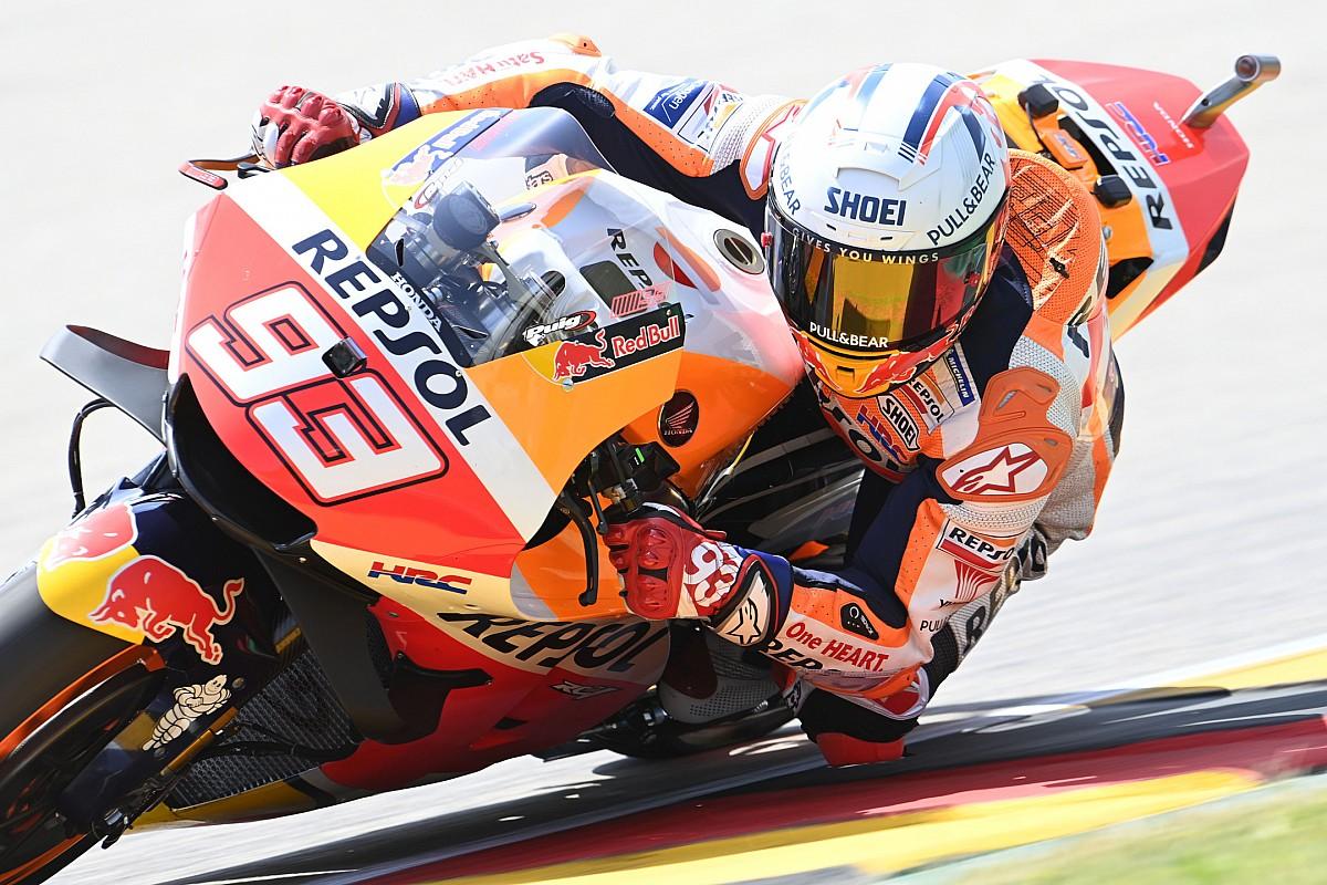 """MotoGPドイツ決勝速報:マルク・マルケス、復活ッッ! 2020年の大怪我乗り越え""""勝利""""掴む"""