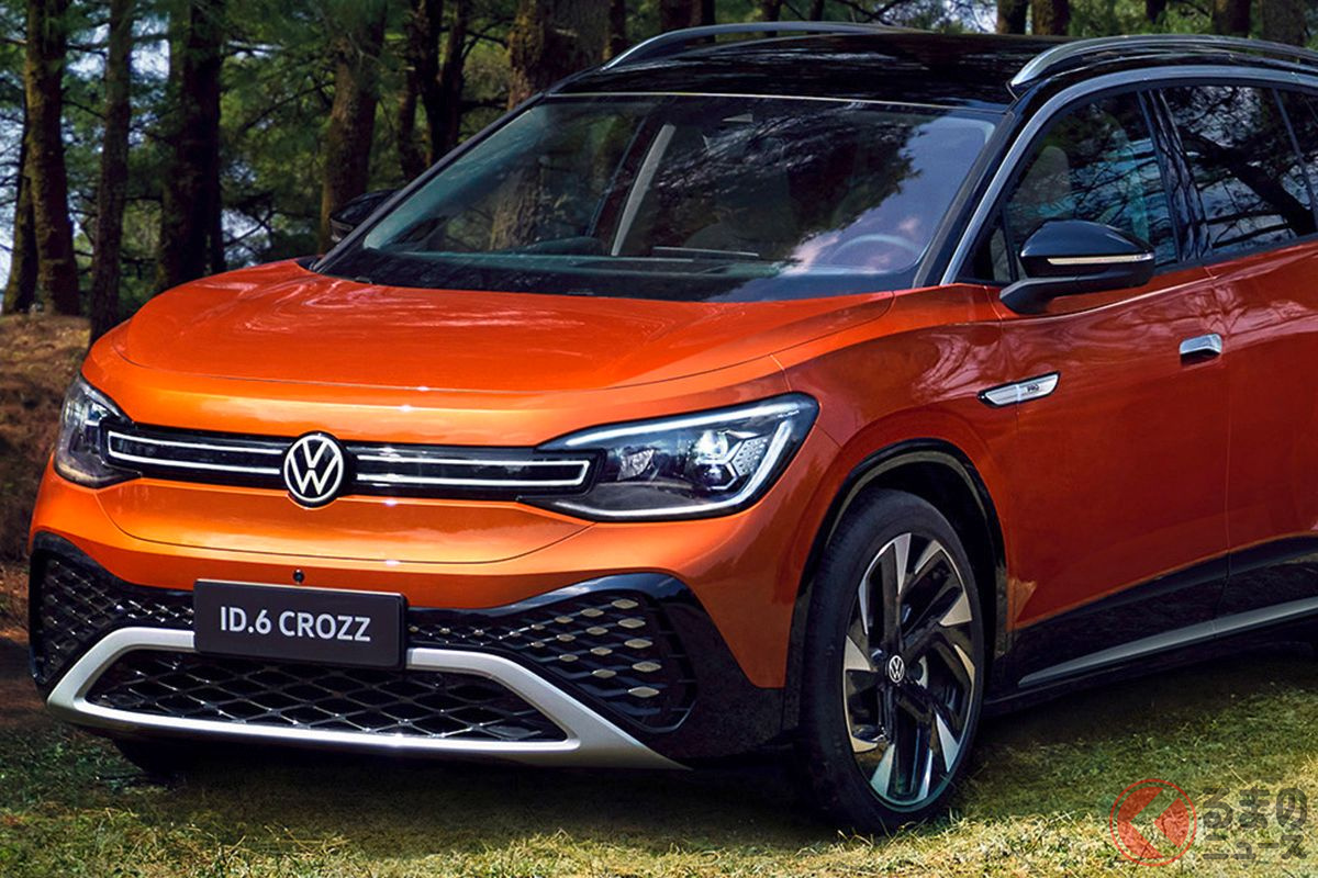 VWの7人乗りミドルサイズ電動SUV「ID.6」世界初公開! ID.ファミリー第3弾