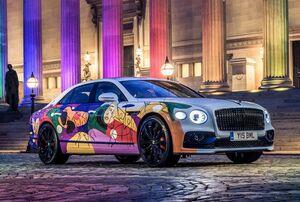 """ベントレーが新戦略""""ビヨンド100""""の立ち上げを記念したフライングスパーのアートカーを披露"""