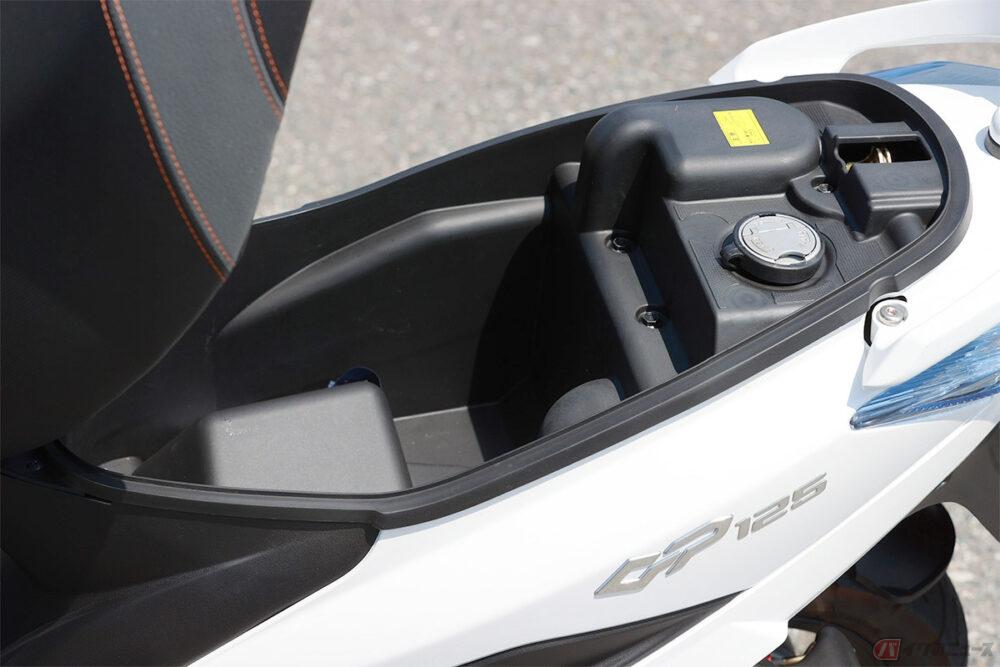台湾キムコ「GP125i VCBS」 抜群の機動力を備える、アンダー20万円の125ccスクーター