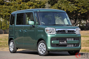 広くて便利で低燃費! スズキ「スペーシア」が国内累計販売台数100万台を達成