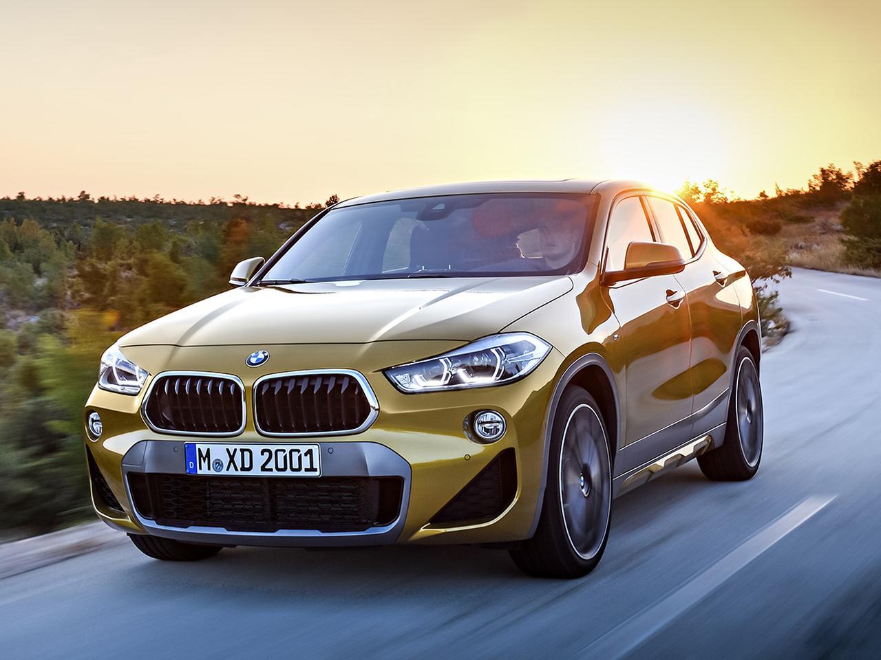 BMW X2 xDrive20dとM35iの装備を充実化する一部改良。あせて車両価格も変更