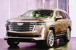 GMジャパン、キャデラック「エスカレード」5年ぶりフルモデルチェンジ オートサロンで初公開 納車は2021年夏から