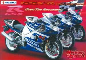 スズキ「GSX-R1000」(2001~2019)の歴史を振り返る【Heritage&Legends】