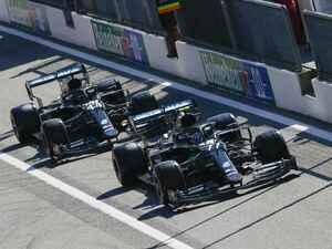 F1第8戦イタリアGP予選、メルセデス勢が圧倒、3番手以降は大混戦でフェルスタッペンは5位【モータースポーツ】
