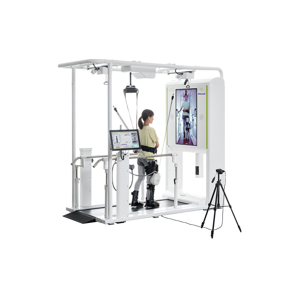 トヨタ、リハビリテーション支援ロボット「ウェルウォークWW-2000」を発表
