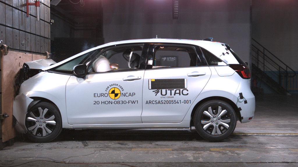 「ホンダ・フィット」が高い安全性を実証! ユーロNCAPで最高評価の5つ星を獲得