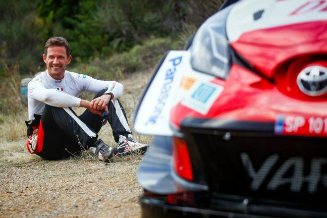 3番手オジエ「表彰台に立てればタイトル争いの大きなステップになる」/WRC第9戦ギリシャ デイ3後コメント