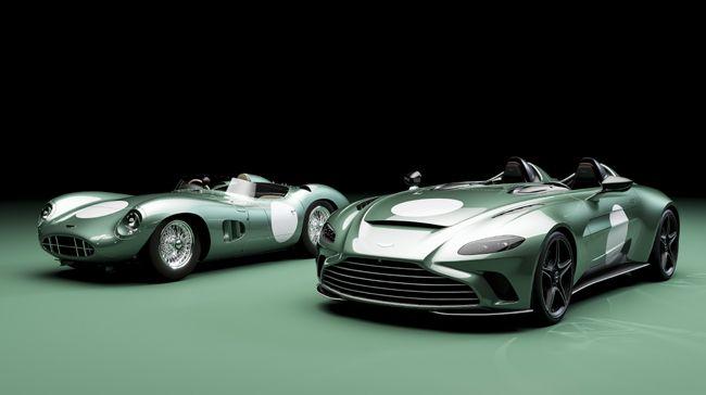 アストンマーティンが至極のオープンスポーツ「V12スピードスター」の特別仕様車を発表