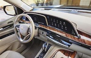 AGC、大型・曲面車載ディスプレー用カバーガラス キャデラックの新型「エスカレード」に採用