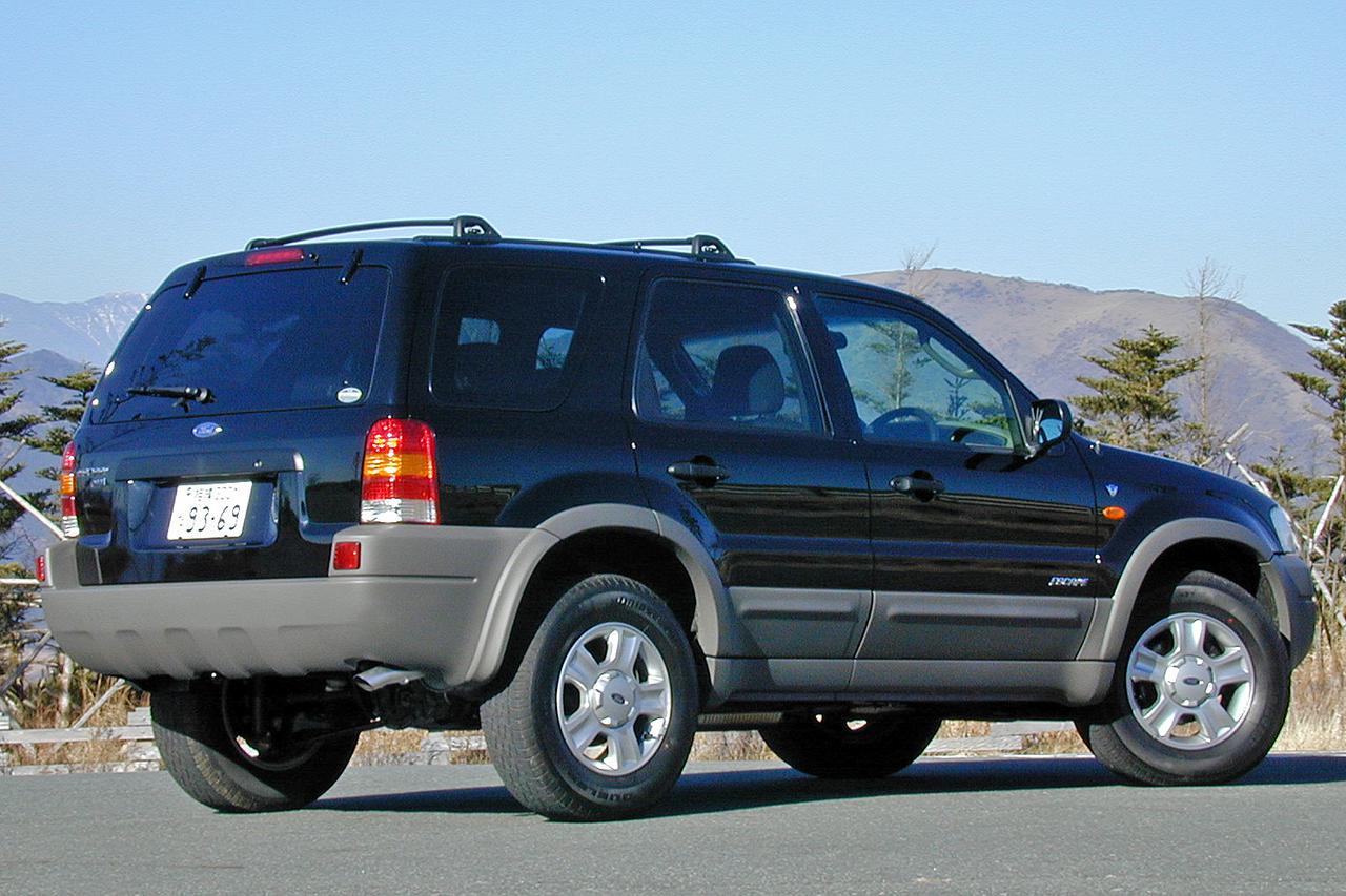 【懐かしの輸入車 06】フォード エスケープは育ちは日本だが心はアメリカンだった!