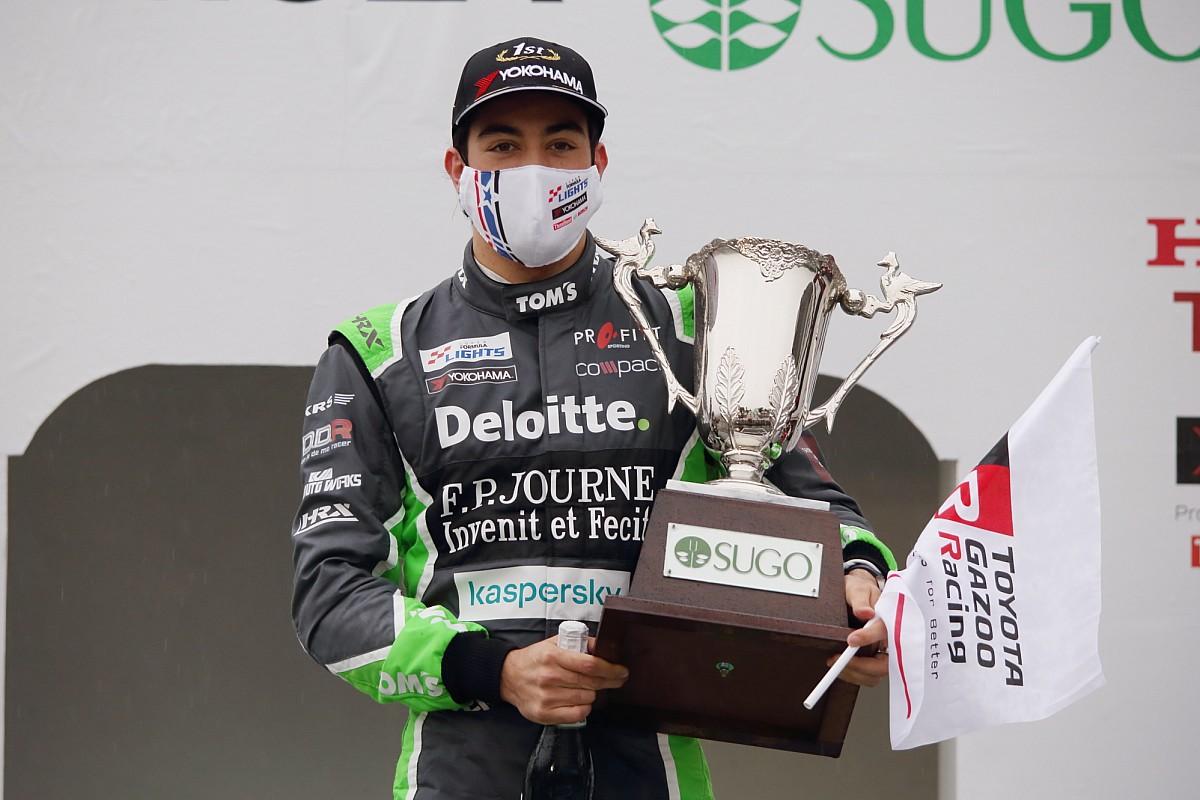 スーパーフォーミュラ・ライツ:第4大会SUGOはジュリアーノ・アレジが3戦2勝も、選手権首位の名取鉄平がリードを拡大