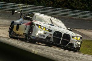 NLS第7戦で新型BMW M4 GT3が実戦デビュー。トラブルなく緒戦を締めくくる