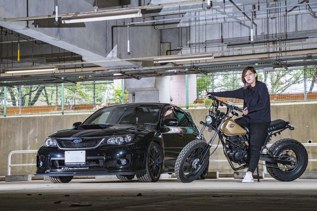 根性でバイクを自力レストア! MT車乗りの女子ライターが夢の「6輪」生活