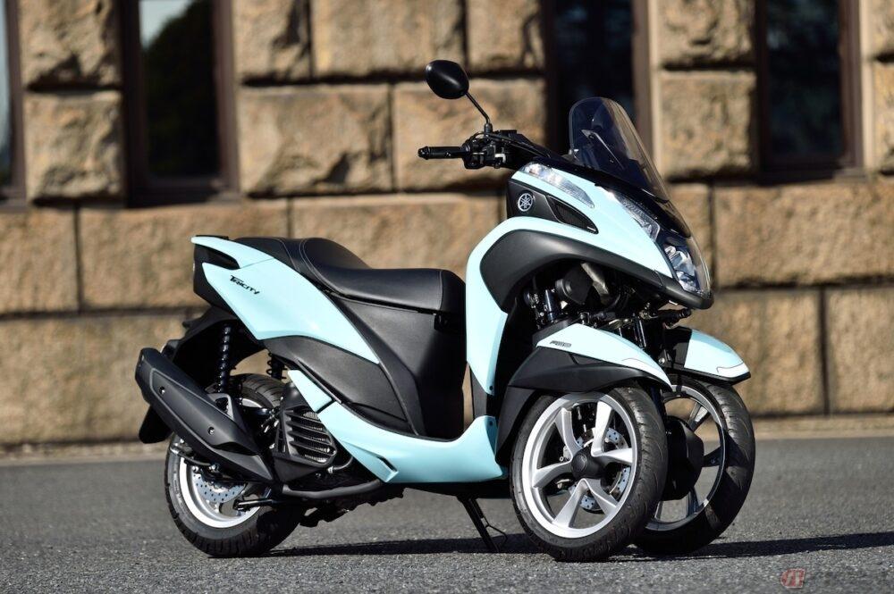 夜道雪のチャレンジバイク道! 人気マンガ「ゆるキャン△」とヤマハがコラボした3輪スクーター「トリシティ125」で、LMWを初体験!