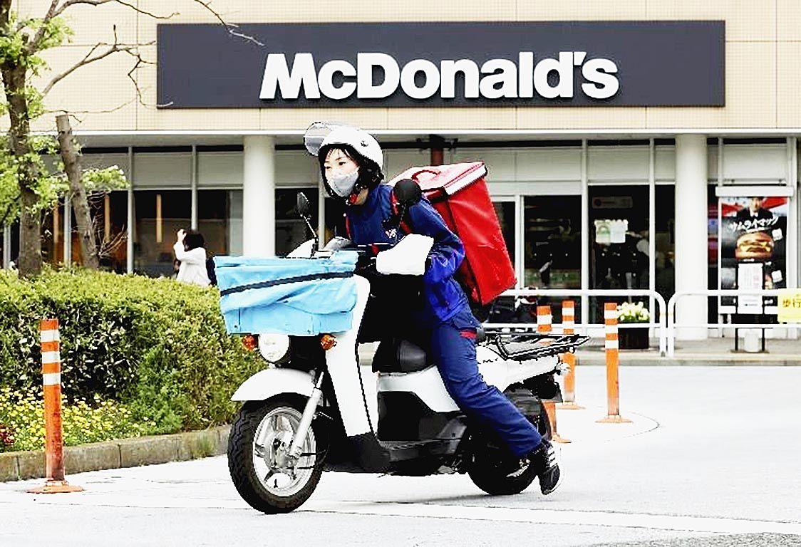 読売新聞の販売店、マクドナルドのフードデリバリーを受託 東京や大阪など9都府県で