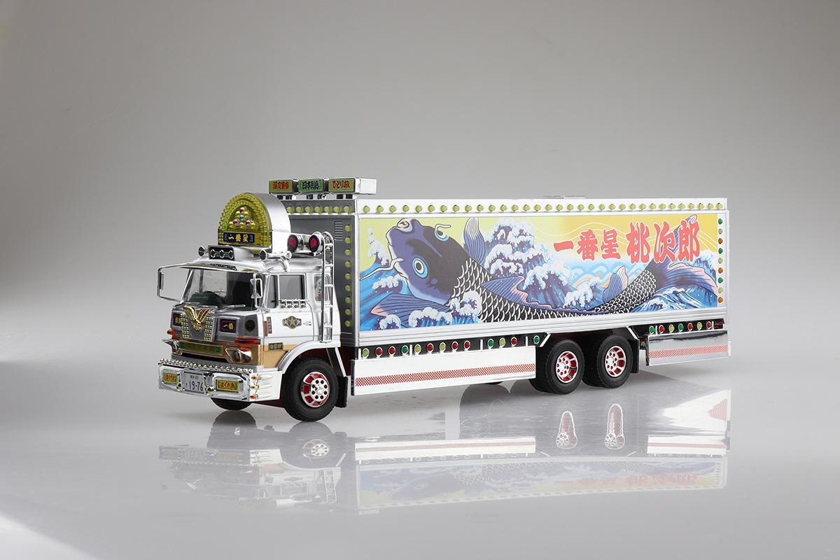 青島文化教材社から人気のトラック野郎RCカー「望郷一番星」仕様が2021年10月に発売!