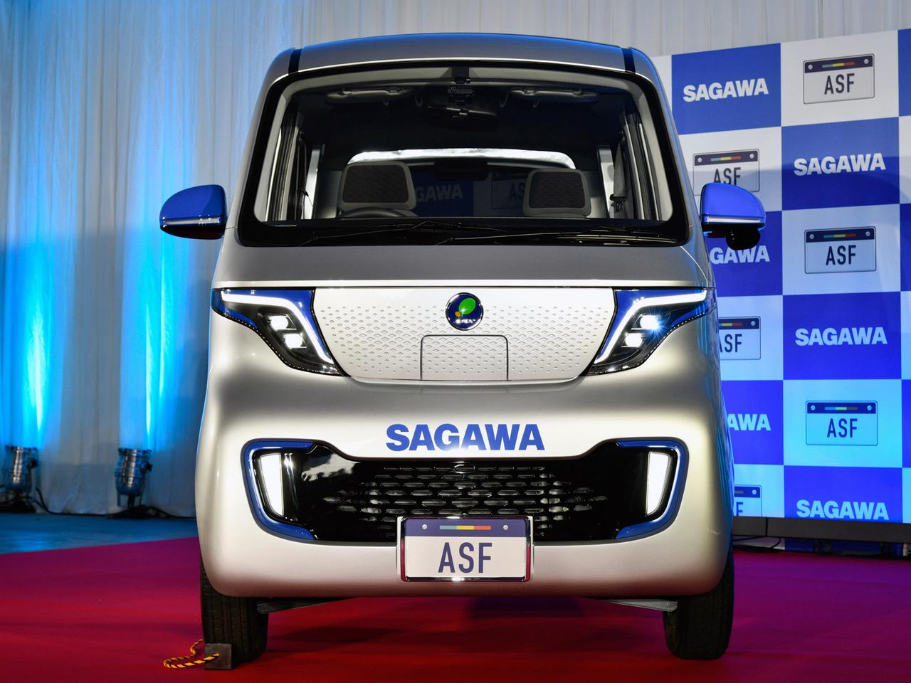 【はたらくクルマ】佐川急便が宅配用EVのプロトタイプを公開。収納や車内照明などの工夫多数