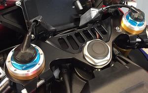 Bonamici のアルミ削り出しトップブリッジに ホンダ CBR1000RR-R Fireblade/SP('20~)用が追加!