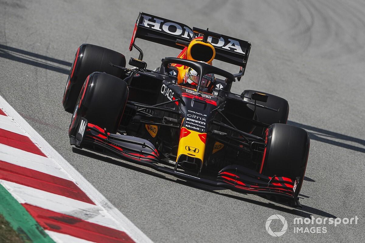 F1スペインFP3:レッドブル・ホンダのフェルスタッペン、実力見せつける首位。中団争いは大接戦、アルファタウリ角田裕毅は12番手
