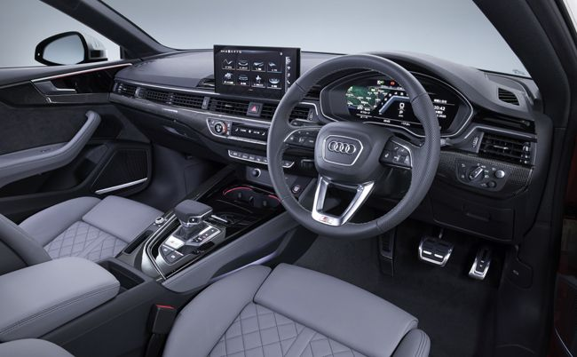 アウディA5/S5シリーズが商品改良。内外装のデザイン変更や新パワーユニットの採用などを実施