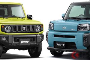 タフな軽SUVが流行り!? ダイハツ新型「タフト」とスズキ「ジムニー」の意外な共通点とは