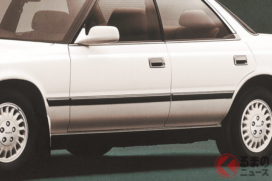 なぜ消えた? 車の「サイドモール」 かつては高級車の証も見かけなくなった理由とは
