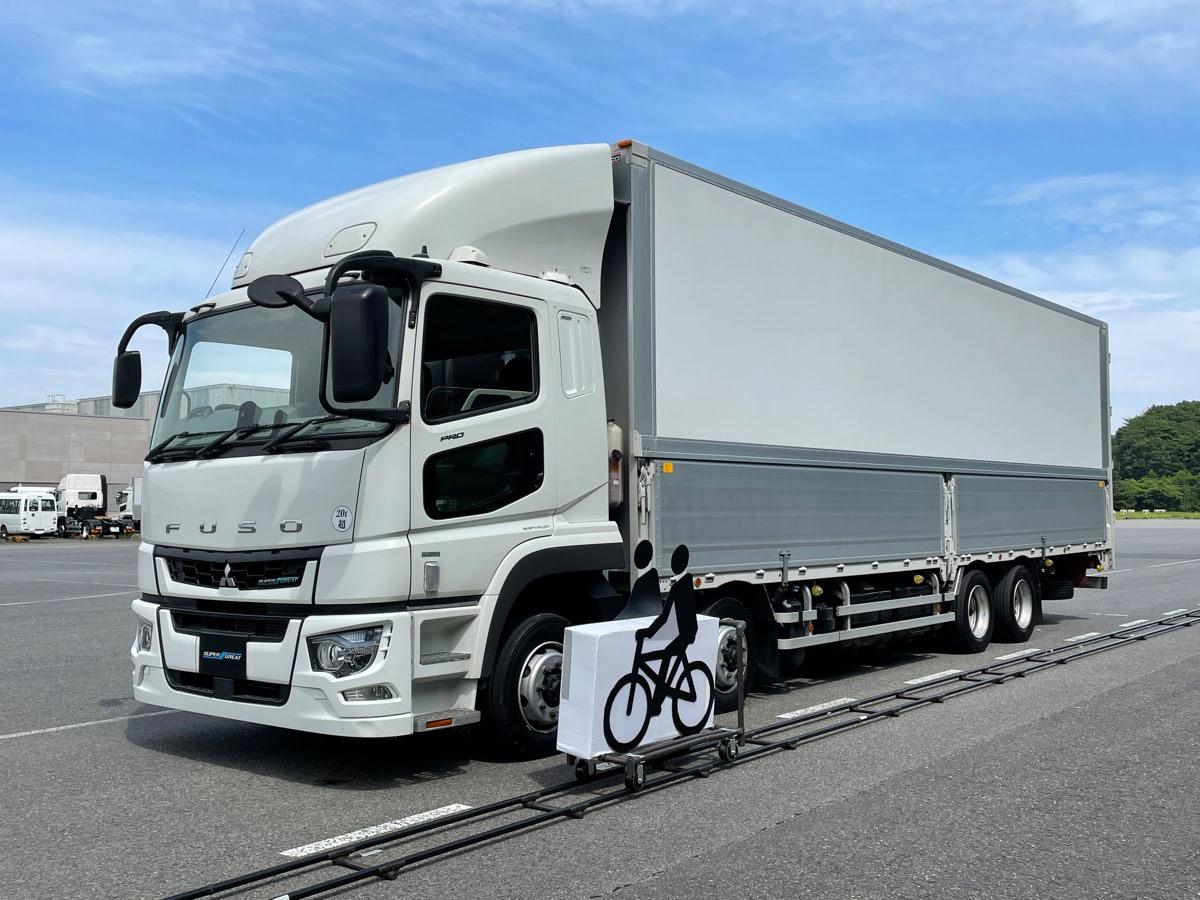 三菱ふそう、大型トラックに2つの安全装備を国内初搭載…交通事故のリスクを低減