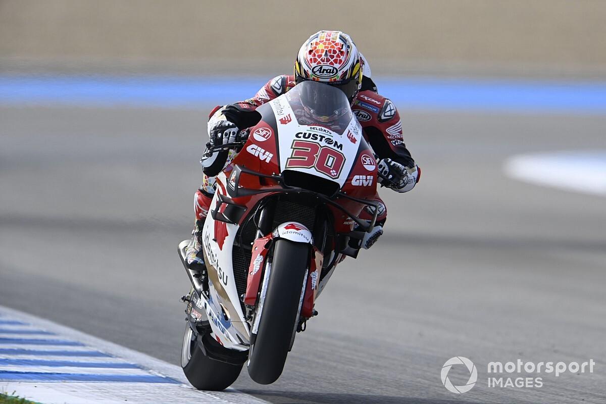 【MotoGP】中上貴晶、今季ベスト5番手に期待高まる……しかしヤマハ勢の強さ警戒「何位になるか話すのは難しい」/旧型シャシー使用を選択