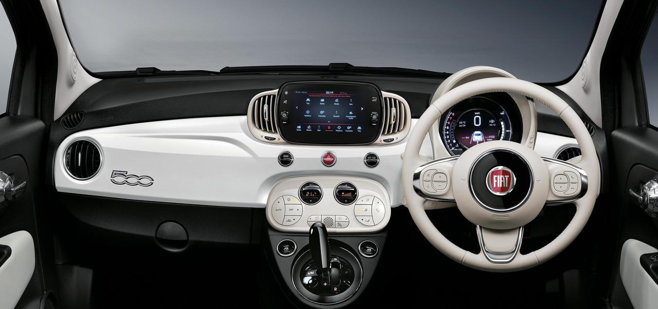 フィアット 500/500Cが内外装をリフレッシュ、ラインアップを一新して登場