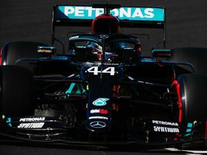 F1ポルトガルGP予選レポート、ハミルトンがポール獲得、最多勝利記録更新へ好スタート【モータースポーツ】