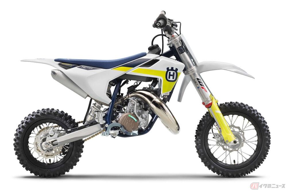 ハスクバーナのモトクロスモデル 電動ミニバイク含め国内向け2022年モデルラインナップ計8機種を発表