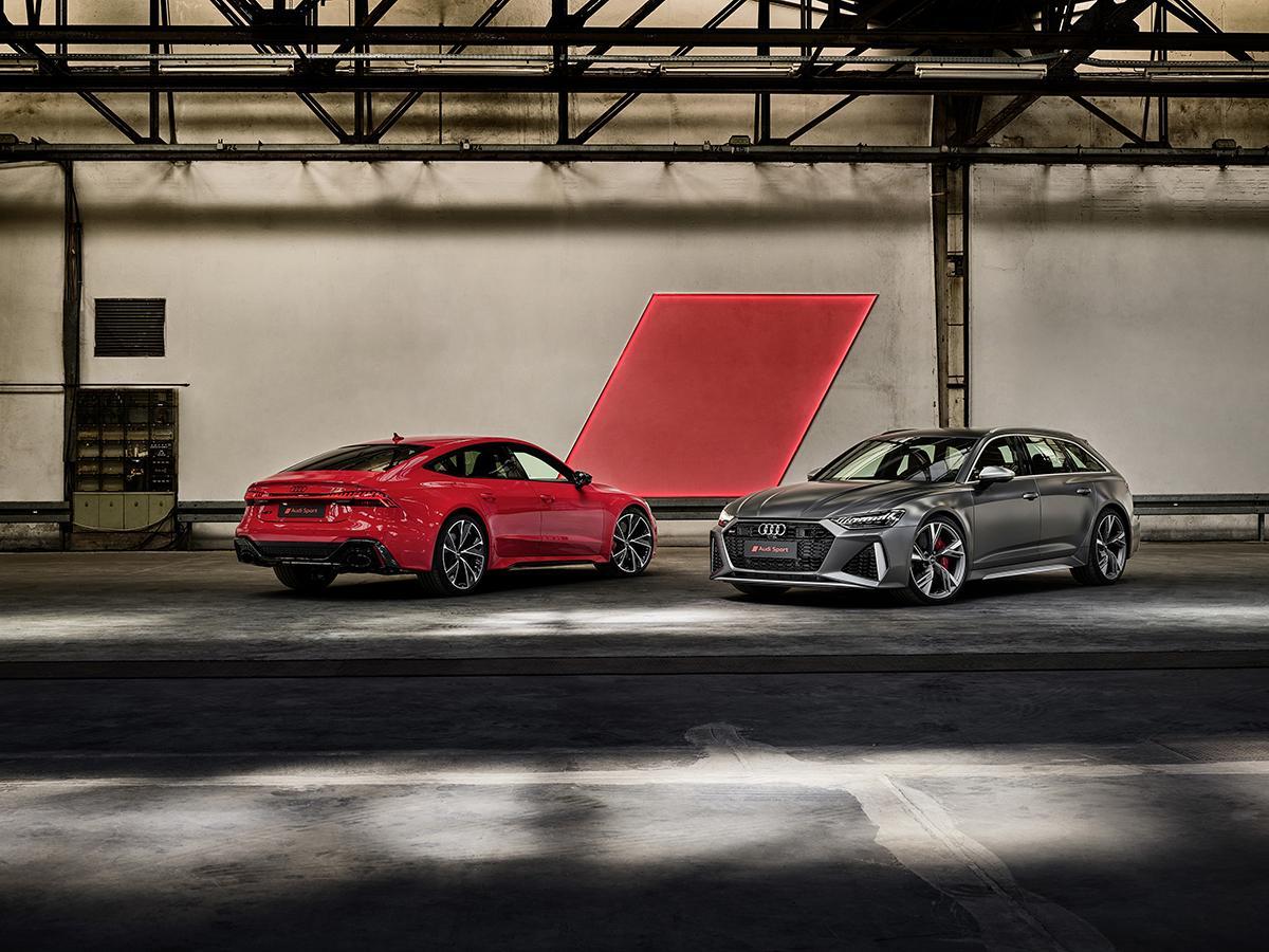 アウディの高性能モデルRS6アバント&RS7スポーツバック&RS Q8が登場! 2021年より発売