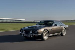 映画007『リビング・デイライツ』に登場したアストンマーティン V8の乗り味【ボンドカー特集】
