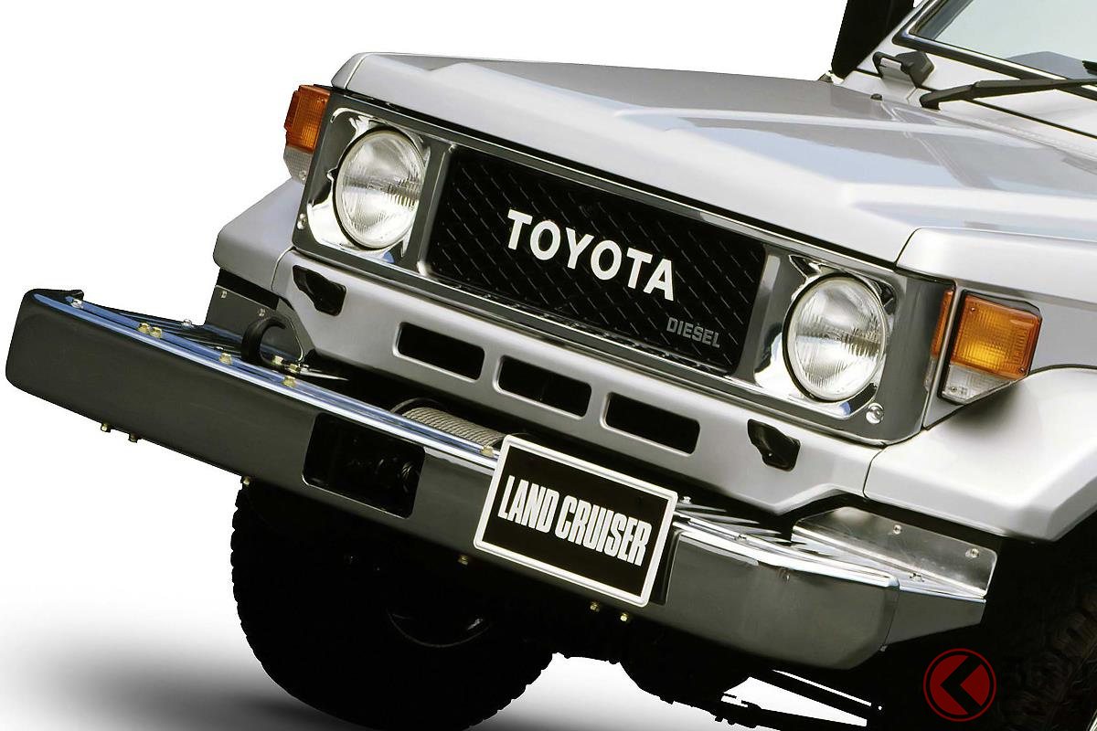新型「300系 ランクル」登場で注目! トヨタの本格クロカン車5選