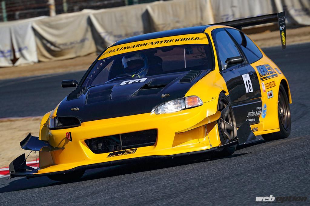 「これが日本で一番速いシビックだ!」GT-Rをも蹴散らす300馬力のメカチューンEG6!!