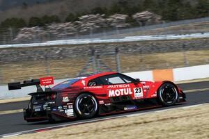 【スーパーGT】GT500は23号車MOTUL AUTECH GT-R、GT300は56号車リアライズ日産自動車大学校GT-Rがトップ。富士公式テスト|セッション1タイム結果