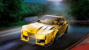 スープラ35周年記念商品「レゴ スピードチャンピオン トヨタ GR スープラ」を発売