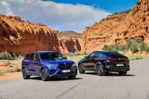 """M社謹製『BMW X5M/X6M』に、625psまで強化された""""Competition""""登場。国内受注開始"""
