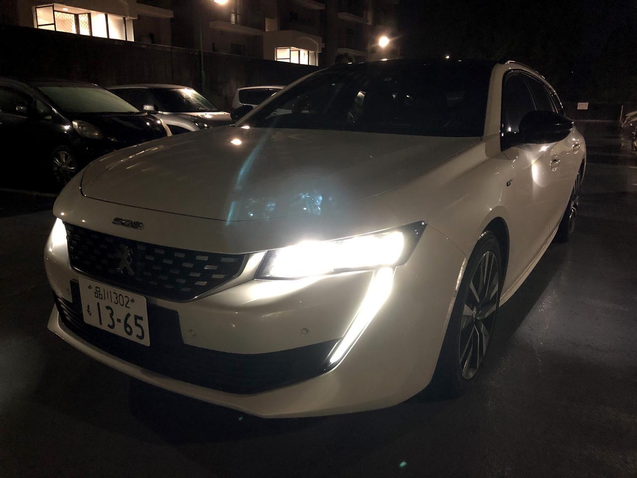 【長期レポート】プジョー508SW GTは人を認識し、夜の安全運転を支援するナイトビジョンを搭載【第9回】