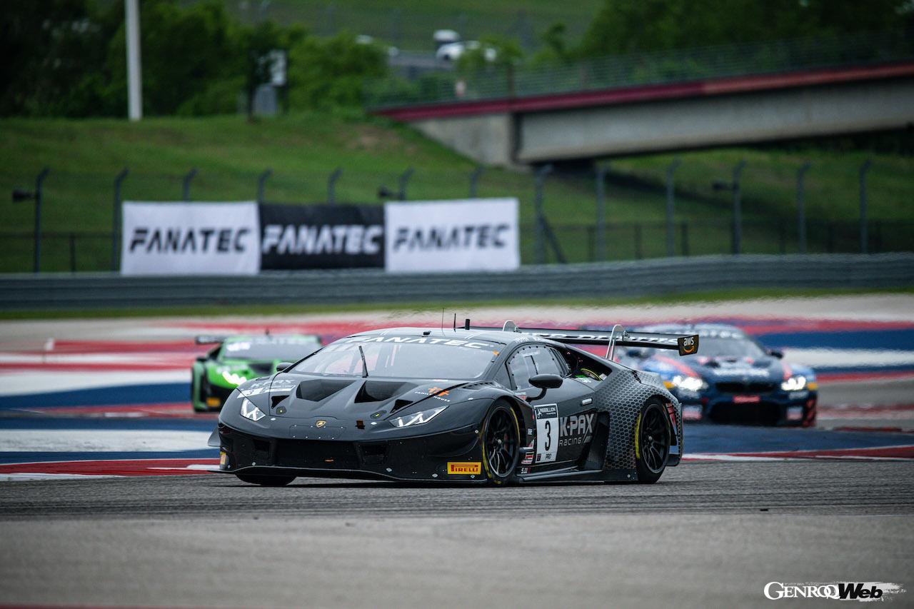 ランボルギーニ ウラカン GT3 EVO、絶好調! GTワールドチャレンジ・アメリカ第3/第4戦を制し開幕から4連勝を飾る