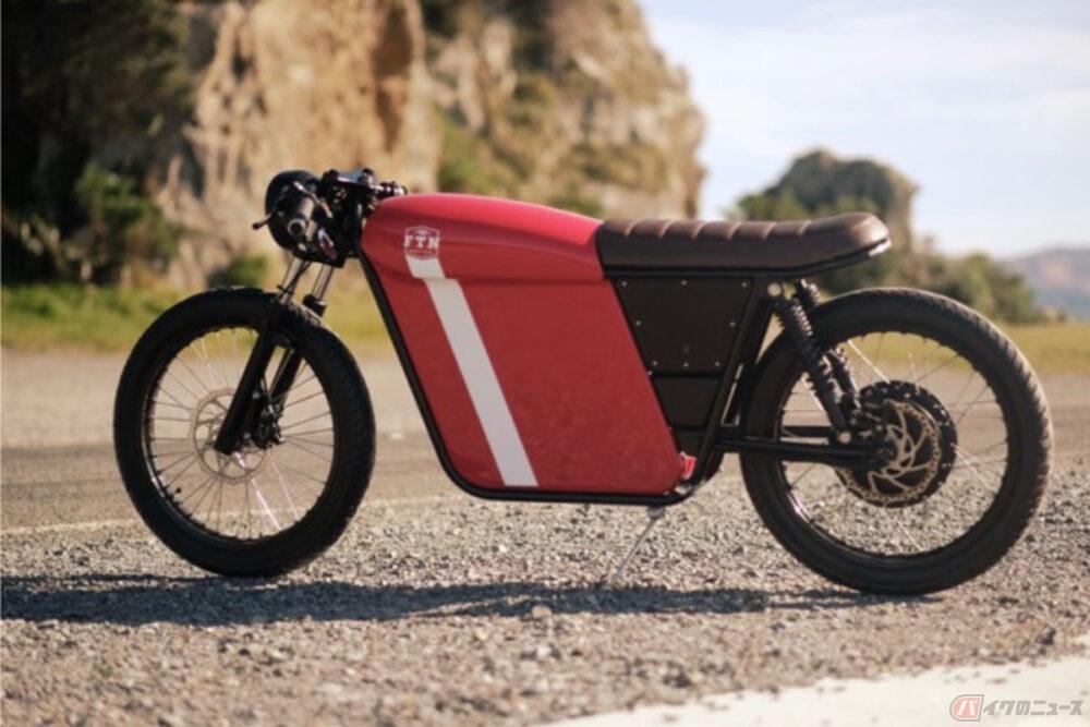 ニュージーランド「FTN Motion」 独自のレイアウトを採用した新型電動バイクを公開