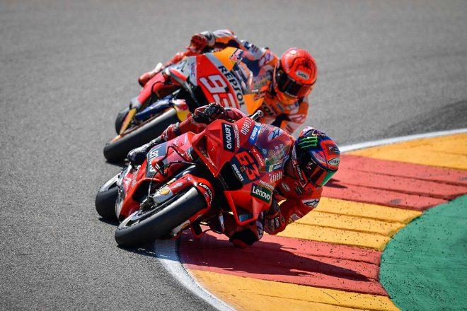 【レースフォーカス】完ぺきな週末で初優勝を飾ったバニャイア。そしてM.マルケスが取り戻したい武器/MotoGP第13戦アラゴンGP