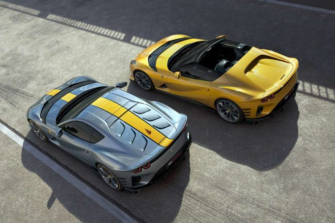 フェラーリ、最新限定モデル『812コンペティツィオーネ』『812コンペティツィオーネA』発表