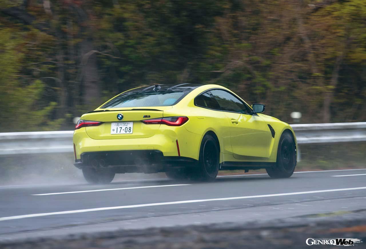BMW M4 クーペ コンペティション初試乗! ストリートでも快適なニア・レーシングカーを雨中で試す