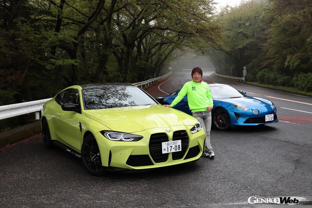池沢早人師、21世紀の狼「アルピーヌ A110S」を駆る!【第8回:vs BMW M4クーペ編】