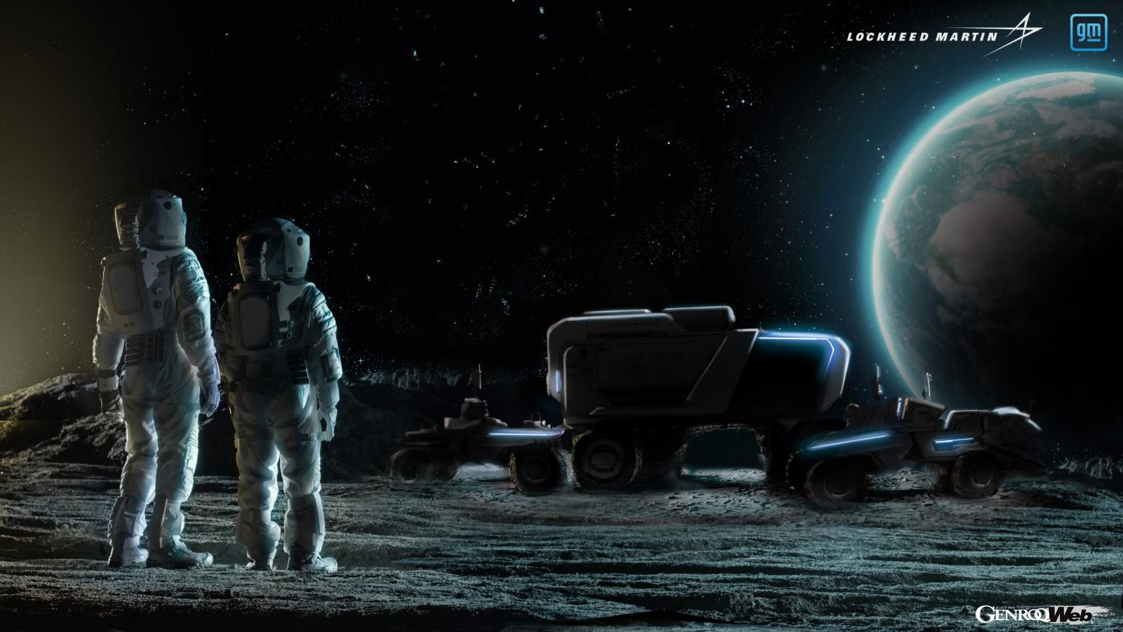 GMが次世代月面探査車を開発! アルテミス計画に用いる「21世紀のムーン・バギー」は自動運転車に 【動画】